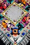резьба mouline вышивки Стоковое Изображение RF