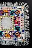 резьба mouline вышивки Стоковые Изображения