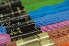 резьбы вышивки конструкции используют ваше Фокус на пиктограмме Стоковое фото RF
