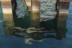Резюмированные воды лета в Чикаго 3 стоковые фото