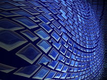 Резюмирует текстуру круга сети предпосылки Стоковая Фотография