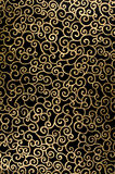 резюмируйте арабеску золотистую Стоковые Фотографии RF