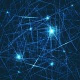 резюмируйте вектор предпосылки яркий Концепция нейронов и nervou Стоковое фото RF