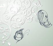 резюмируйте весну бабочек предпосылки флористическую бесплатная иллюстрация