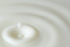 резюмируйте выплеск молока стоковое изображение
