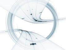 резюмируйте габаритную свирль 3 Стоковая Фотография RF