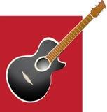 резюмируйте гитару Стоковое Изображение RF