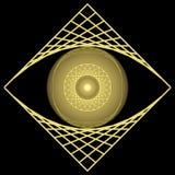 резюмируйте глаз Стоковая Фотография