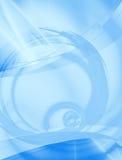 резюмируйте голубой план Стоковая Фотография