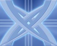 резюмируйте голубую конструкцию Стоковые Фото