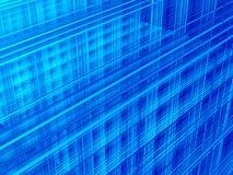 Резюмируйте голубую предпосылку Стоковое Фото