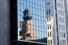резюмируйте город зданий Стоковое Изображение RF