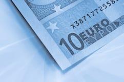 резюмируйте деньги евро предпосылки стоковая фотография rf