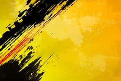 Резюмируйте желтый цвет Стоковое Изображение