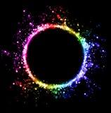 Резюмируйте запачканную светлую предпосылку Стоковое Фото