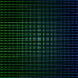 резюмируйте зеленый цвет предпосылки голубой Стоковое Изображение