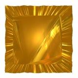 резюмируйте золото предпосылки Стоковое Фото