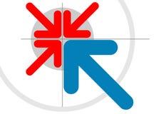 резюмируйте иллюстрацию Стоковое фото RF