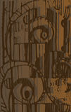 резюмируйте коричневые тоны состава шоколада Стоковое Изображение RF