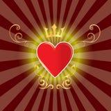 резюмируйте красивейшее сердце Стоковые Фото