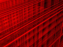 Резюмируйте красную предпосылку Стоковое Изображение RF