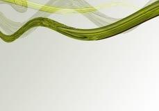 резюмируйте кривые Стоковое Фото