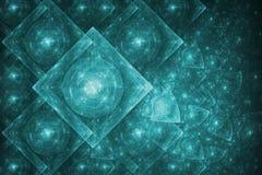 резюмируйте кристаллическое образование Стоковое фото RF