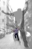 резюмируйте отсутствующие тени бега Стоковое Изображение RF
