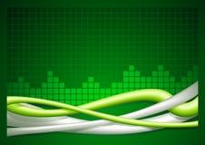 Резюмируйте предпосылку провода - горизонтальную Иллюстрация штока