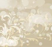резюмируйте предпосылку флористическую Стоковая Фотография RF