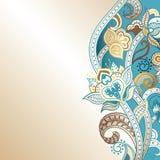 резюмируйте предпосылку флористическую Стоковые Изображения