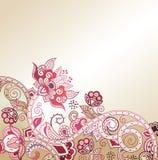 резюмируйте предпосылку флористическую Стоковые Фото