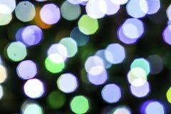 Резюмируйте предпосылку bokeh Мягкие defocused света Стоковая Фотография RF
