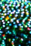 Резюмируйте предпосылку bokeh Мягкие defocused света Стоковое Изображение