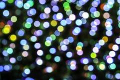 Резюмируйте предпосылку bokeh Мягкие defocused света Стоковое Изображение RF