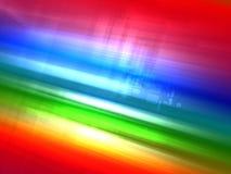 резюмируйте радугу предпосылки светящую урбанскую Стоковое Изображение