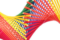 резюмируйте радугу helix стоковые изображения