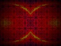 Резюмируйте роскошную красную предпосылку Стоковое Изображение