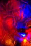 резюмируйте света рождества предпосылки Стоковое Изображение