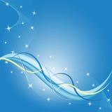 резюмируйте синь предпосылки Стоковая Фотография RF