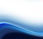 резюмируйте синь предпосылки Стоковое Изображение RF
