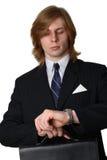 резюмируйте случай бизнесмена Стоковые Изображения RF