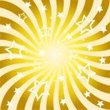 резюмируйте солнце лучей предпосылки Стоковая Фотография