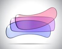 Резюмируйте стеклянные прокладки Стоковые Изображения