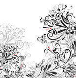 резюмируйте флористическое pattern3 Стоковое фото RF