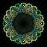 резюмируйте фракталь предпосылки Стоковое Изображение RF