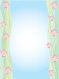 резюмируйте цветки предпосылки стоковое изображение rf