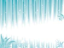 резюмируйте striped космос экземпляра предпосылки флористический Иллюстрация штока