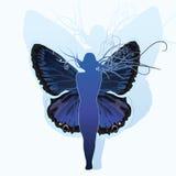 Реинкарнация EPS10 бабочки Стоковые Фотографии RF