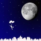 рейс воздушного шара Стоковые Фото